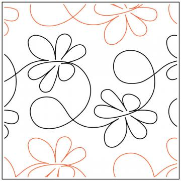 Apricot-Moons-Buzz-quilting-pantograph-pattern-Apricot-Moon-Designs