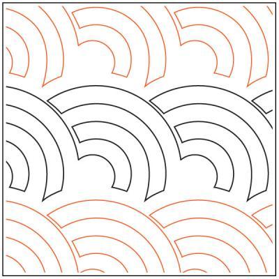 Asian-Fan-quilting-pantograph-pattern-Apricot-Moon-Designs