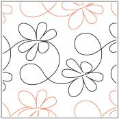 Apricot Moon Buzz quilting pantograph pattern from Apricot Moon Designs