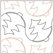 Apricot-Moons-Christmas-Tree-quilting-pantograph-pattern-Apricot-Moon-Designs