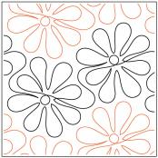 Apricot-Moons-Daisy-Doodle-quilting-pantograph-pattern-Apricot-Moon-Designs