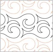 Breath of the Gods pantograph pattern from Apricot Moon Designs