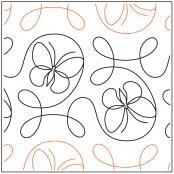 Garden-Flight-quilting-pantograph-pattern-Apricot-Moon-Designs