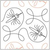 Ginger-Skeeter-quilting-pantograph-pattern-Apricot-Moon-Designs