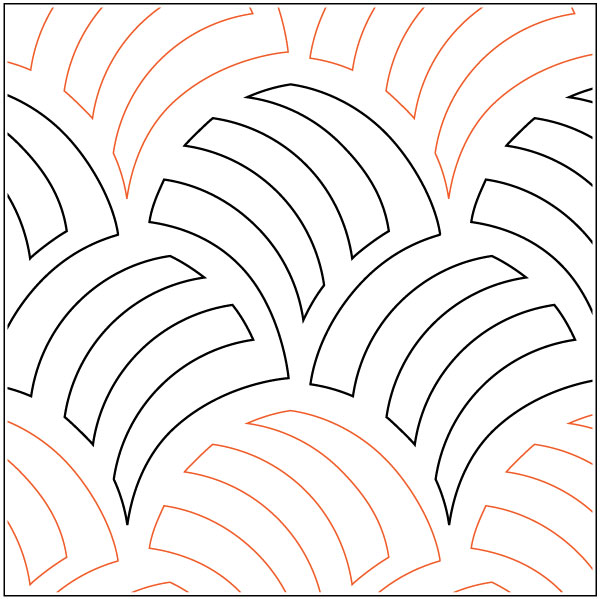 Woven Wind Pantograph Pattern From Apricot Moon Designs