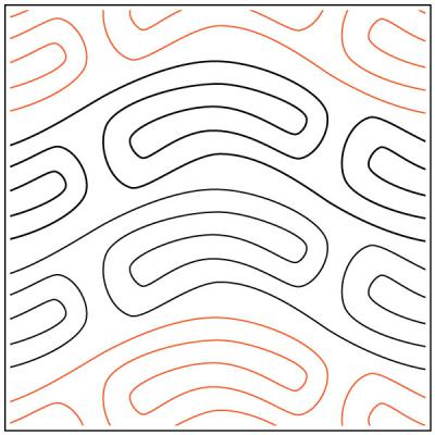 African-Heat-Wave-quilting-pantograph-pattern-African-Moon-Designs
