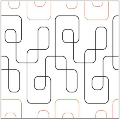 Cool-Beans-quilting-pantograph-pattern-Apricot-Moon-Designs