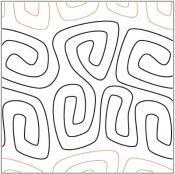 African-Samba-quilting-pantograph-pattern-African-Moon-Designs-1