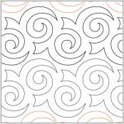 Apricot Moon's Turbulence  pantograph pattern from Apricot Moon Designs