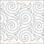 Cinnamon-Swirl-quilting-pantograph-pattern-Apricot-Moon-Designs