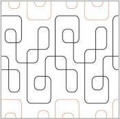 Cool Beans pantograph pattern from Apricot Moon Designs
