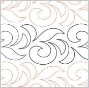 Florence-quilting-pantograph-pattern-Apricot-Moon-Designs