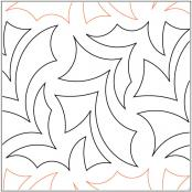 Restless-quilting-pantograph-pattern-Apricot-Moon-Designs