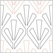 Trinity-quilting-pantograph-pattern-Apricot-Moon-Designs