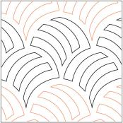INVENTORY REDUCTION...Woven Wind pantograph pattern from Apricot Moon Designs