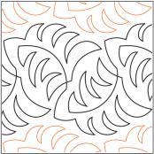 Becker's Ferns quilting pantograph pattern by Barbara Becker