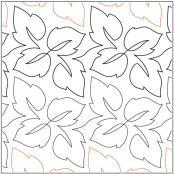Leaf Quartet pantograph pattern by Barbara Becker