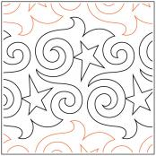 Party Time pantograph pattern by Barbara Becker