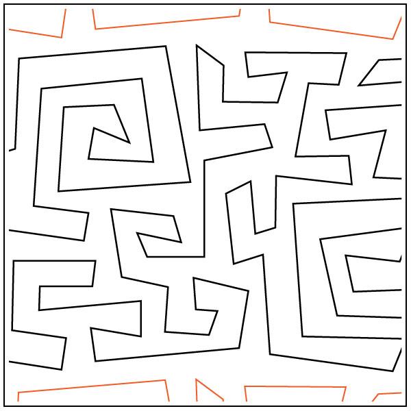 Crazy-Mazey-quilting-pantograph-pattern-Darlene-Epp