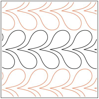Feather-Flower-Sashing-quilting-pantograph-pattern-Darlene-Epp