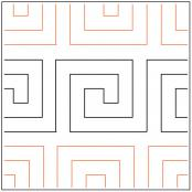 Darlenes-Greek-Key-Border-quilting-pantograph-pattern-Darlene-Epp