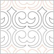 Crown-Jewels-quilting-pantograph-pattern-Darlene-Epp