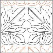 Jasons-Leaf--quilting-pantograph-pattern-Darlene-Epp-1