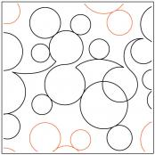 INVENTORY REDUCTION...More Bubbles quilting pantograph pattern by Dave Hudson