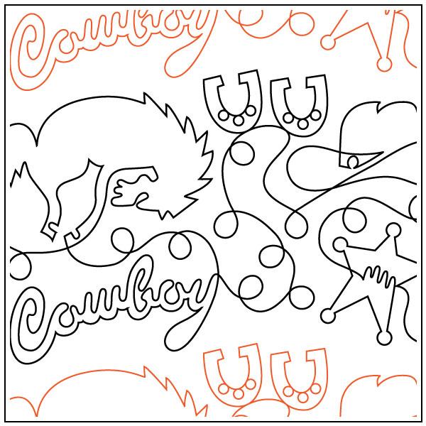 Cowboy-quilting-pantograph-pattern-dave-hudson