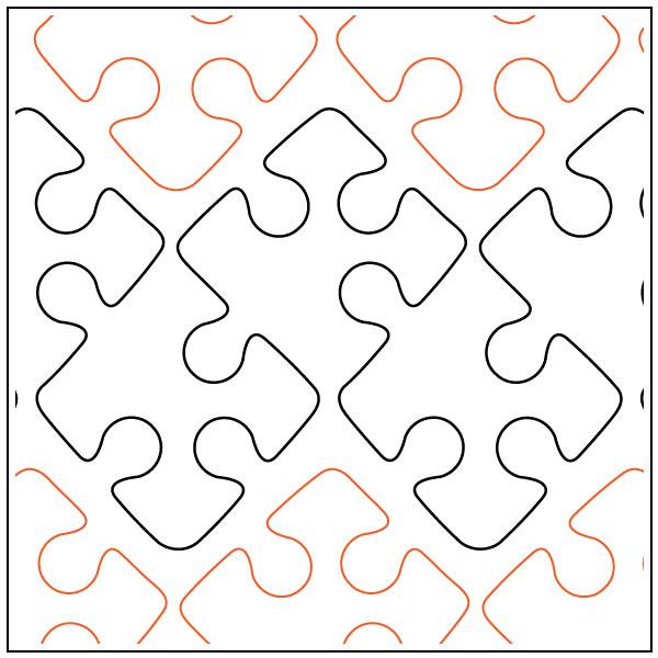 Daves-Jigsaw-border-quilting-pantograph-pattern-dave-hudson