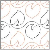 Blowing-Leaves-quilting-pantograph-pattern-dave-hudson