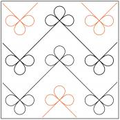 Bows-quilting-pantograph-pattern-dave-hudson