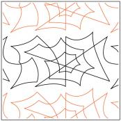 Daves-Spiderweb-Border-quilting-pantograph-pattern-dave-hudson