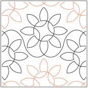 Daves-Sunflowers-quilting-pantograph-pattern-dave-hudson-1