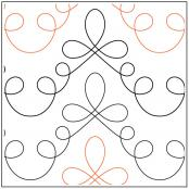 Loops-and-More-Loops-quilting-pantograph-pattern-dave-hudson