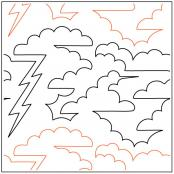 Storm-Clouds-quilting-pantograph-pattern-dave-hudson