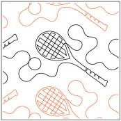 Tennis-quilting-pantograph-pattern-dave-hudson