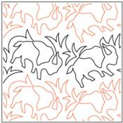 Where-The-Buffalo-Roam-quilting-pantograph-pattern-dave-hudson