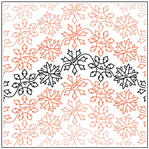 Debs-Snowflakes-quilting-pantograph-sewing-pattern-Deb-Geissler-2