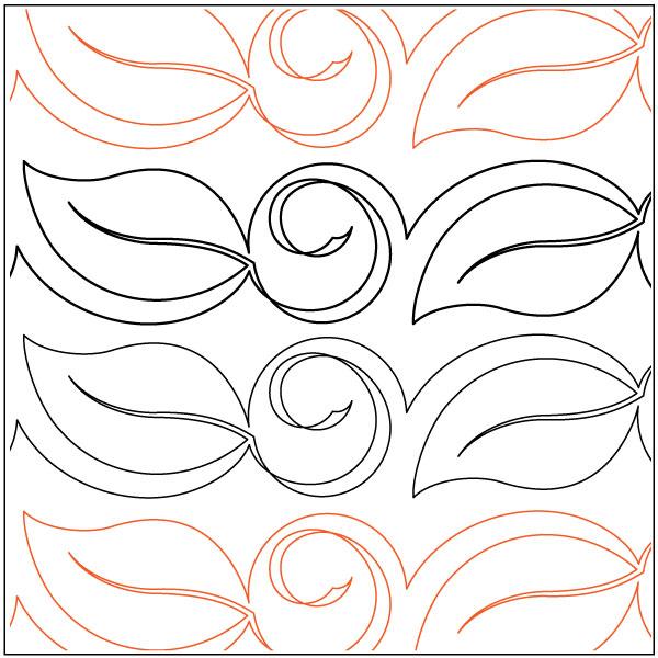 Bali-Leaf-quilting-pantograph-pattern-Deb-Geissler