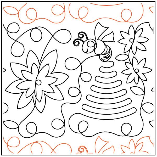 Beehive-quilting-pantograph-pattern-Deb-Geissler-2