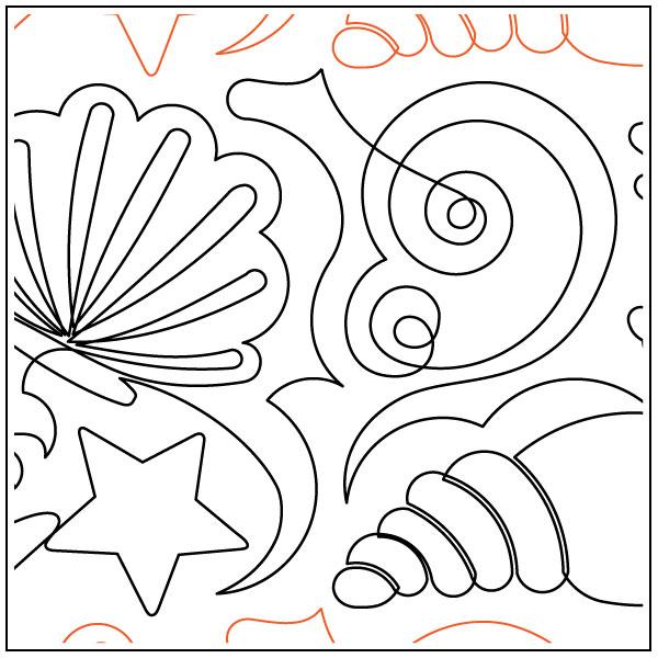 Seashells-quilting-pantograph-pattern-Deb-Geissler-2