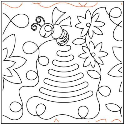 Beehive-quilting-pantograph-pattern-Deb-Geissler-1