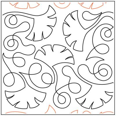 Debs-Ginkgo-Leaves-quilting-pantograph-pattern-Deb-Geissler