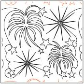 Debs-Fireworks-quilting-pantograph-pattern-Deb-Geissler