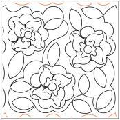 Debs-Flowers-quilting-pantograph-pattern-Deb-Geissler