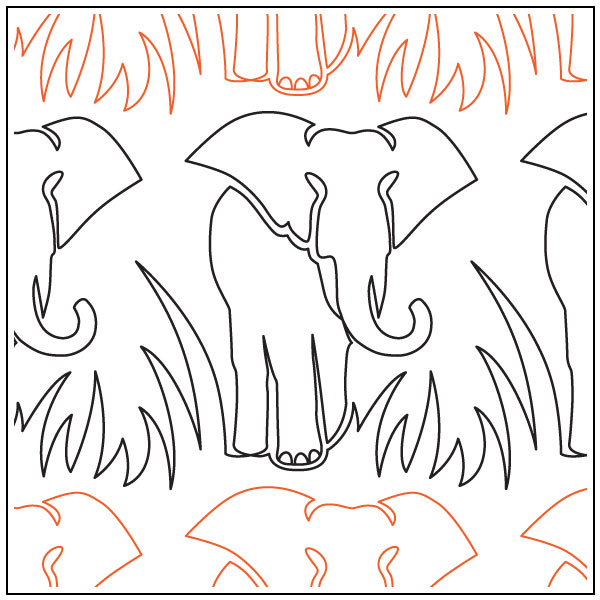 Elephant-quilting-pantograph-pattern-Jessica-Schick