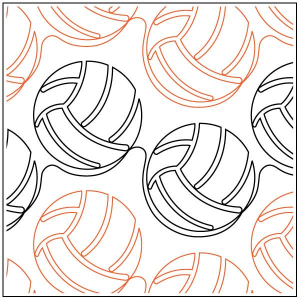 Modern-Volleyball-quilting-pantograph-pattern-Jessica-Schick-2
