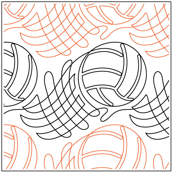 Volleyball-Swoosh-quilting-pantograph-pattern-Jessica-Schick-2