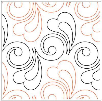 Cupid-quilting-pantograph-pattern-Leisha-Farnsworth
